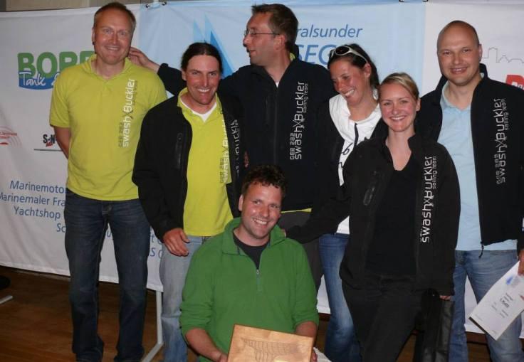 Rund Rügen 2013: Otmar, David, Gunther, Micha, Annett, Katy, Rolf