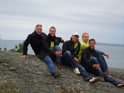 X-99 Gold Cup 2012, Marstrand: Rolf, Katy, David, Otmar, Annett