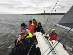 Ziel vor Stralsund